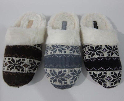1342 Soft Furry Warm Comfy Girl Lady Women House Winter Slippers Indoor Shoes