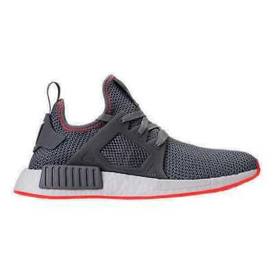 4f53edc09b5d7 MEN S ADIDAS NMD Runner XR1 Casual Shoes Grey Solar Red BY9925 GRY ...