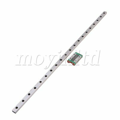 50cm Extended MGN12 Bearing Linear Sliding Guide Rails & MGN12H Block