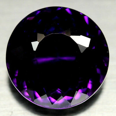 28.91 CT AAA! 20 mm. PURPLE CLR CHANGE TO PINK BRAZILIAN AMETHYST ROUND
