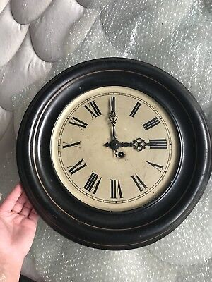 Antique French Wall Clock 19th Century