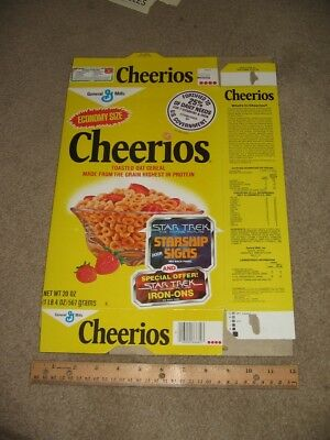 cereal box Cheerios Star Trek movie 1979 trading card A