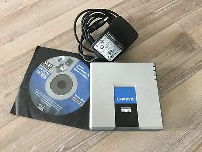 Cisco Linksys SPA2102 Internet Phone Adapter mit Router VoIP Phone Analog Phone