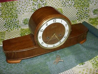 Junghans Original Vintage buffet and fireplace clock
