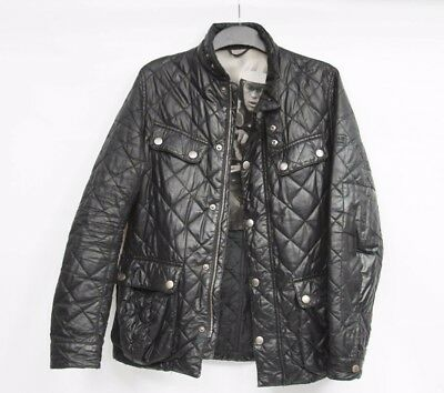 Barbour International Steve McQueen Mulholland Quilted Jacket Small Men's RARE