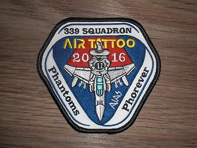 Patch Phantom F-4, Air Tattoo 2016, 339 Squadron, Hellenic Air Force, Luftwaffe