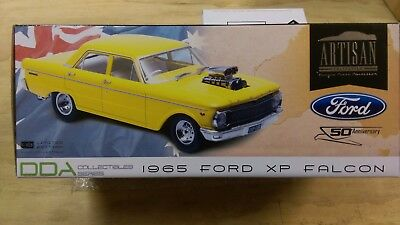 "1:18 1965 Ford  XP Falcon Street Machine (Yellow) Greenlight ""50th Anniversary"""