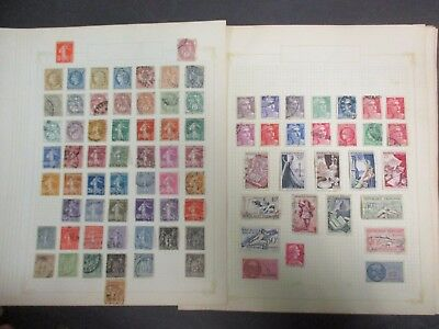 ESTATE SALE: France collection on page  - heaps - FREE POSTAGE (3607)
