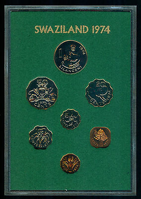 1974 Swaziland 7 Coin Proof Set