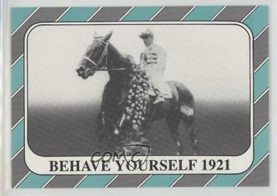 1991 Horse Star Kentucky Derby #47 Behave Yourself MiscSports Card