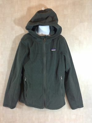 EUC Boys Patagonia Better Sweater Jacket In Deep Gray Size Large 12