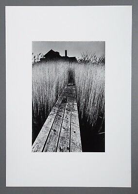 Jeanloup Sieff Limited Edition Photo Litho 34x49cm La maison noire New York 1964