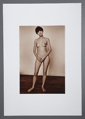 Jeanloup Sieff Limited Edition Photo Litho 34x49 Hommage à Seurat New York 1964