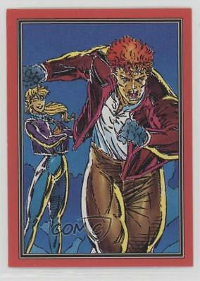 1992 Comic Images Youngblood #21 Alert Non-Sports Card 0c4