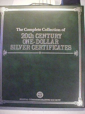 Complete Collection of 20th Century One-Dollar Silver Certificates