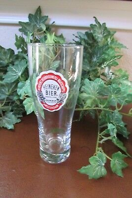 Heineken Experience Amsterdam limited edition tasting beer glass, etched 0.15L