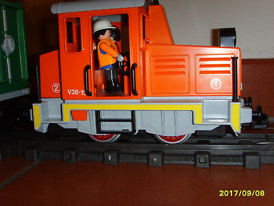 Playmobil 4085 RC Güterzug mit Container Terminal in OVP