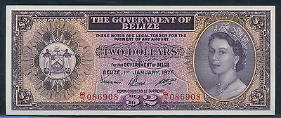 Belize 1976 2 dollars Pick34c  .
