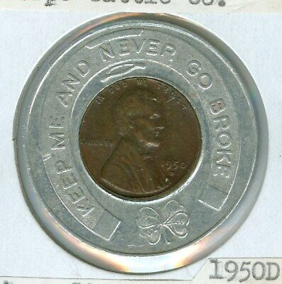 Mac Quality Tools Council Bluffs Iowa Encased 1988 D Uncirculated Cent