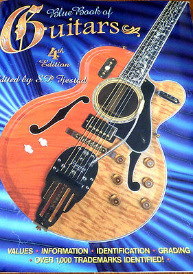 Blue Book of Guitars by S. P. Fjestad 4th Edition (1997, Paperback) Early Rare