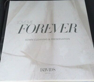 Love Me Forever Wedding Gown Preservation Kit New in Box by Davids Bridal