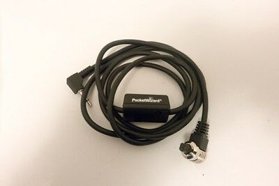 PocketWizard CM-N3-P Remote Cable Motor Cord, Canon 3-Pin to Miniphone - 3'