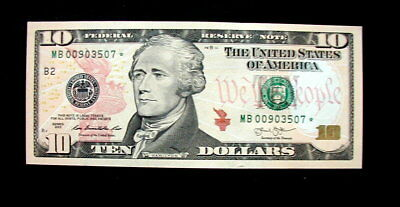 2003 US Banknote Replacement 1Dollars UNC GEM  high quality consecutive