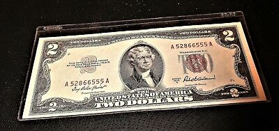 1953 A $2 United States Note Crisp Uncirculated