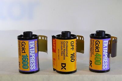 Kodak Ektapress Pro Color Negative film - 3 rolls