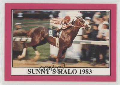 1991 Horse Star Kentucky Derby #109 Sunny's Halo MiscSports Card