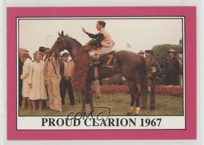 1991 Horse Star Kentucky Derby #93 Proud Carion MiscSports Card