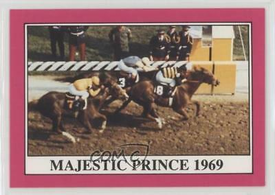 1991 Horse Star Kentucky Derby #95 Majestic Prince MiscSports Card