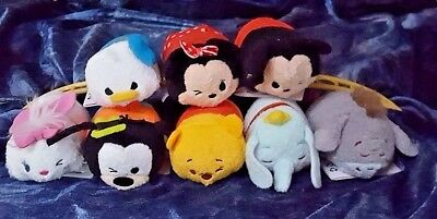 Disney Tsum Tsums-Marie-Goofy-Pooh-Dumbo-Eyeor-Donald-Minnie & Mickey (8)