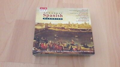 3 CD Box - The great Spanish Classics