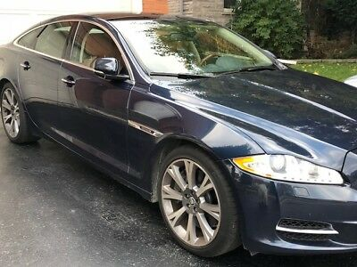 2012 Jaguar XJ SUPERCHARGED 2012 JAGUAR XJ SUPERCHARGED 5.0L. 475hp, LOW 45,000 mi, Metallic Blue on Tan !!