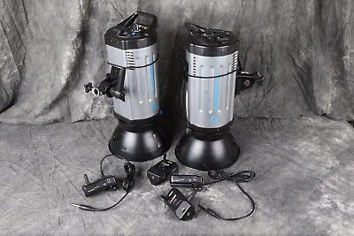 Flashpoint 620 300WS monolight pair plus radio slave & trigger set