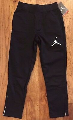 Nike Jordan Boys zipper Therma-FIT Jogger Sweatpant Medium