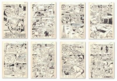 What The--?! #8 Complete 8 Page Story Moon Knight Parody art by Winslow Mortimer