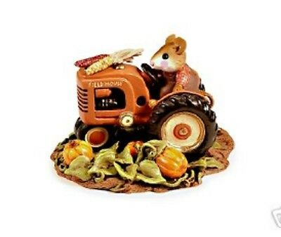 Wee Forest Folk M-133a Field Mouse Harvest - Factory Special - RETIRED