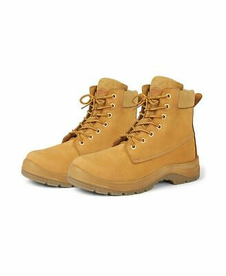 JBS Heavy Duty Lace Up Outdoor Safety Boot Steel Toe Cap Shock Absorbent Heel9F5