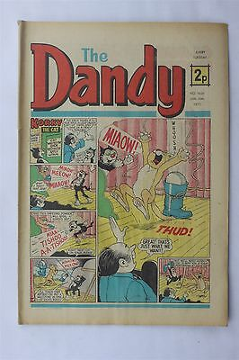 The Dandy 1626 January 20th 1973 Vintage UK Comic Korky The Cat Desperate Dan