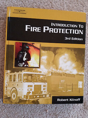 book hardcover introduction to fire protection 3rd edition robert klinoff physic