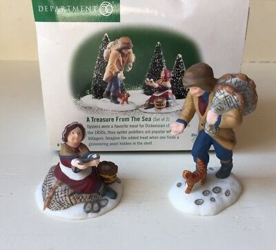 Dept 56 Dickens Village Series 1999 A TREASURE FROM THE SEA 58461 - RETIRED 2001
