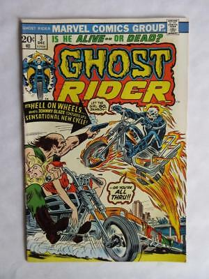 Ghost Rider # 3 - HIGH GRADE - Gains power for Cycle of Fire Supernatural MARVEL