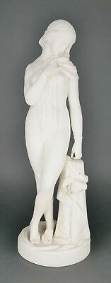 "Antique JOHN BELL ""Octoroon"" Minton Parian Bisque Porcelain Sculpture Statue"