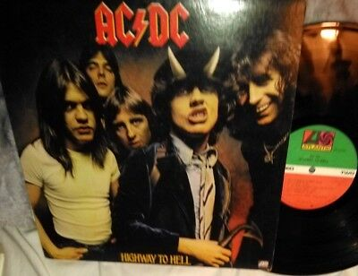 AC DC Highway to Hell. Org. 1979 Pressing Atlantic SD 19244 LP VG+
