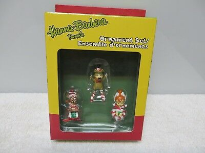 Hanna-Barbera - Ornaments Set - Includes 3 Mini Ornaments - New