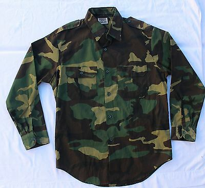 Vintage 60's Gung Ho Camouflage Water Proof Hunting Shirt
