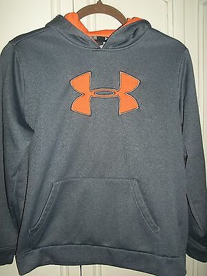 Pre-owned Youth Under Armour Hoodie - Size YLG Loose