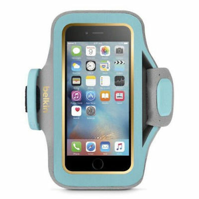 New Belkin Slim Fit Plus Workout Running Armband for Apple iPhone 6 and 6S